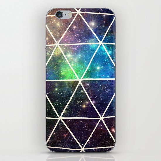Space Geodesic iPhone & iPod Skin