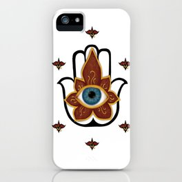 Khamsa iPhone Case
