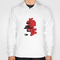 japan Hoodies featuring JAPAN by Joe Pansa