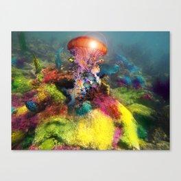 Jellyfish Reef Canvas Print
