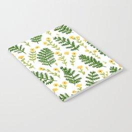 Ferns & Flowers Notebook