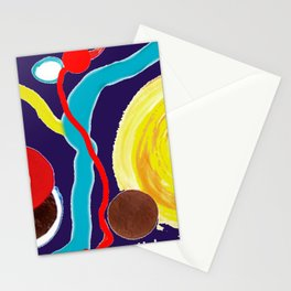 SPACE EXCURSION                by   Kay Lipton Stationery Cards