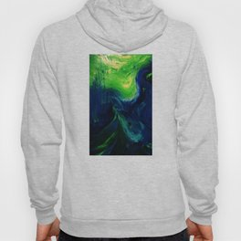 Abstract Hurricane by Robert S. Lee Hoody