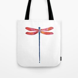 Dragonfly art illustration Tote Bag