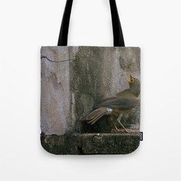 Big Eyed Grieve Tote Bag