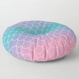 Pastel Mermaid Floor Pillow