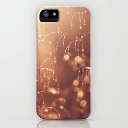 wake up in the garden iPhone Case