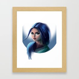 Bluu Framed Art Print