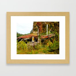 Abandoned.   Framed Art Print
