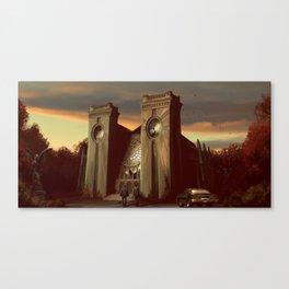 Sunset Hunt Canvas Print