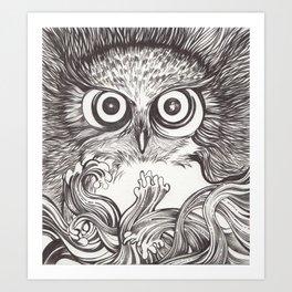 Vigilia Art Print
