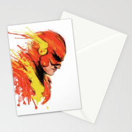 Fastest man  Stationery Cards