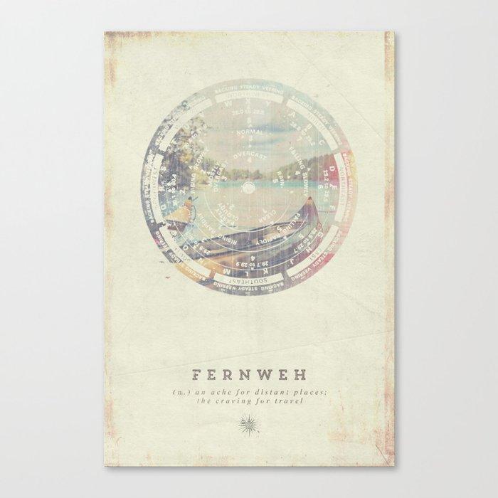 Fernweh Vol 8 Canvas Print