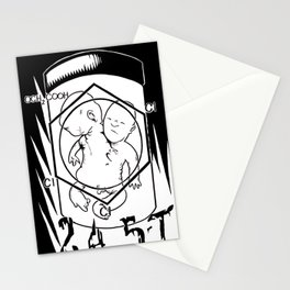 Agent Orange Stationery Cards