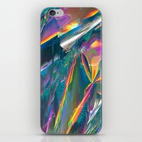 iPhone & iPod Skins featuring IRIDESCENT by Malavida