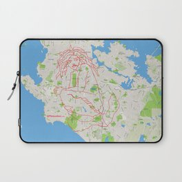 The Siren of the Salish Sea Laptop Sleeve