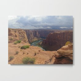 Glen Canyon Overlook Metal Print
