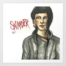 Salander Art Print