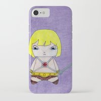 conan iPhone & iPod Cases featuring A Boy - He-Man by Christophe Chiozzi