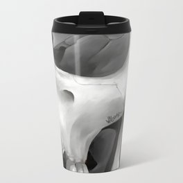 Skull 10 Metal Travel Mug