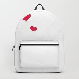 Have good heart but this Mouth Backpack