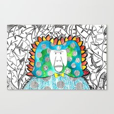 Manmademonkey Canvas Print