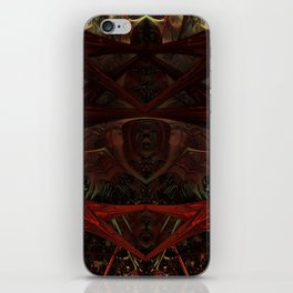 Xeno Blood Red iPhone Skin