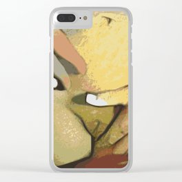 Cradled Clear iPhone Case