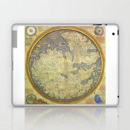 The Fra Mauro World Map Circa 1450 Laptop & iPad Skin