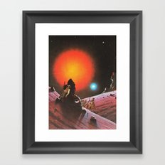 The Wild West Guide To The Galaxy # 190 Framed Art Print