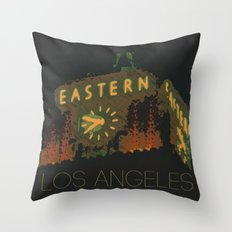 Eastern Columbia Building Los Angeles, California Throw Pillow