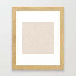 Chardon Quarter Spanish White Framed Art Print