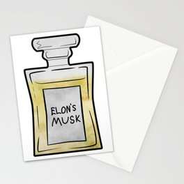 Elon's Musk Stationery Cards