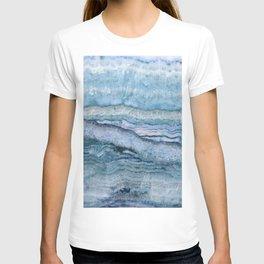 Mystic Stone Aqua Blue T-shirt