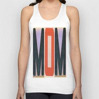 mom Tank Tops featuring mOm by NevFina