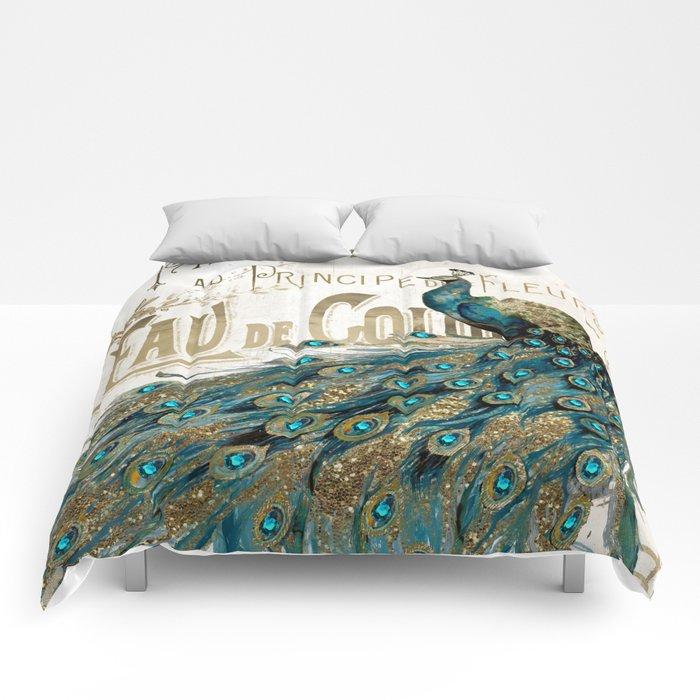 Peacock Jewels Comforters