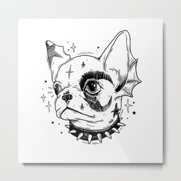 HELL PUPPY Metal Print