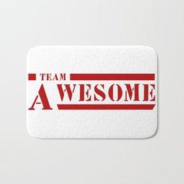 Team A awesome Bath Mat