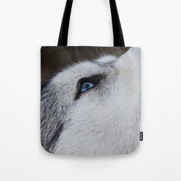 Husky eye Tote Bag