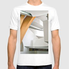 Intersect White Mens Fitted Tee MEDIUM