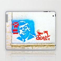 J.F.K. Street Art Laptop & iPad Skin