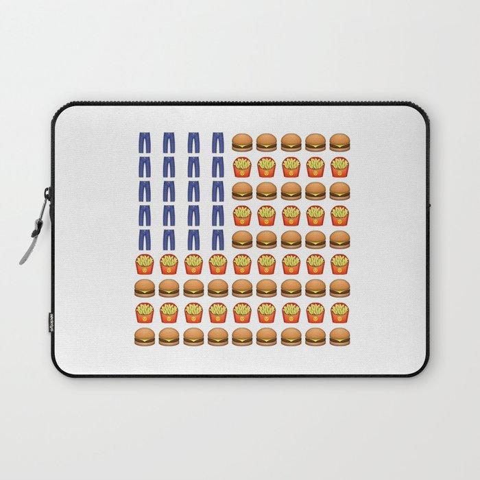 Emoji USA Flag Laptop Sleeve