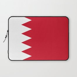 Flag Of Bahrain Laptop Sleeve