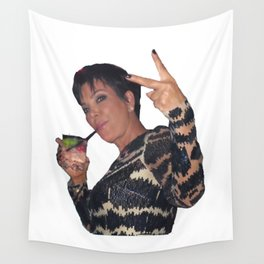 Peace Out Kris Jenner Wall Tapestry