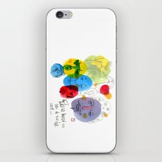 White Lie iPhone & iPod Skin
