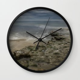 Reef and Sky at Swami's, Encinitas, California Wall Clock