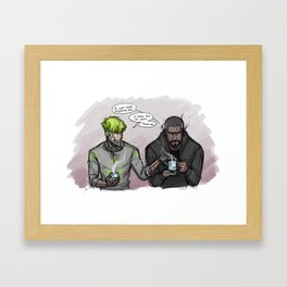 Still Kickin' Framed Art Print