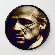 Godfather - I will make him an offer he can't refuse Wall Clock