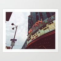 blink 182 Art Prints featuring Blink 182 at The Wiltern by Jacbo