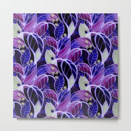 Violets and Blues Metal Print